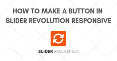 How to make a button in slider revolution responsive