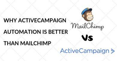 mailchimp vs activecampaign