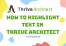 How To Highlight Text in Thrive Architect