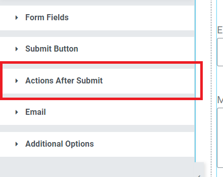 elementor pro form email configuration
